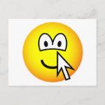 Clickable emoticon   postcards