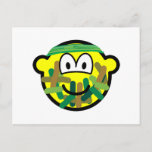 Camouflage buddy icon   postcards