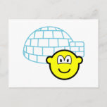 Igloo buddy icon Building  postcards