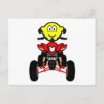 Quad bike buddy icon China quad  postcards