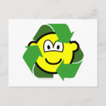 Recycle buddy icon version II  postcards