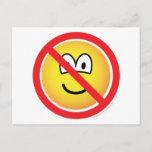No emoticons   postcards