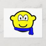 Blue belt buddy icon   postcards