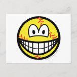 Baseball smile   postcards