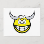 Taurus smile Zodiac sign  postcards