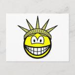 Smile of liberty   postcards
