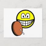 Bodhran smile   postcards