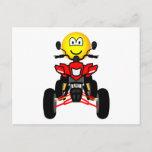 Quad bike emoticon China quad  postcards