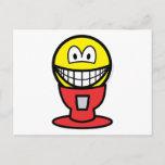 Gumball machine smile   postcards