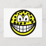 Leopard smile   postcards