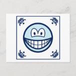 Delft blue smile   postcards