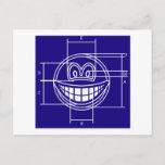 Blueprint smile   postcards