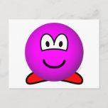 Kirby emoticon   postcards