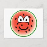 Watermeloen emoticon   postcards