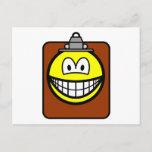 Clipboard smile   postcards