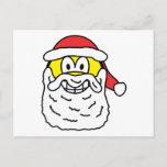 Santa smile   postcards