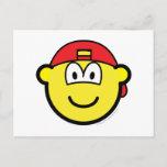 Backward cap buddy icon   postcards