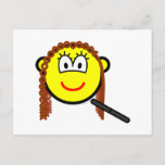 Hair straightening buddy icon   postcards