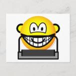 Treadmill emoticon   postcards