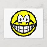 Biohazard smile version II  postcards