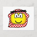 Jordan head cap emoticon   postcards