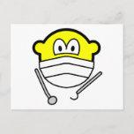 Dentist buddy icon   postcards