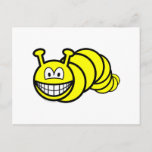Caterpillar smile   postcards