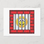 Jailed emoticon   postcards