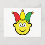 Joker/Carnival buddy icon   postcards
