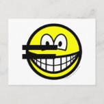 Euro symbol smile   postcards