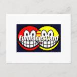 Credit Card smile   postcards