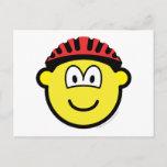 Biker buddy icon   postcards