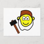 Grumpy buddy icon Seven Dwarves  postcards