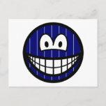 Pinstripe smile   postcards