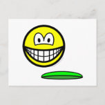 Frisbeeing smile   postcards