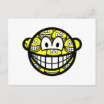 Multiple personality smile   postcards