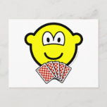 Card playing buddy icon   postcards