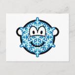 Snowflake buddy icon   postcards