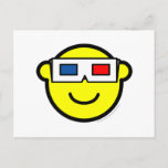 3D glasses buddy icon   postcards