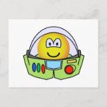 Buzz Lightyear emoticon   postcards