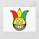 Joker/Carnival smile   postcards