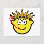 Frog king buddy icon   postcards