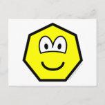Heptagon buddy icon   postcards