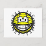 Pinhead smile   postcards