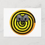 Spiral emoticon   postcards