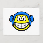 Waterpolo smile   postcards