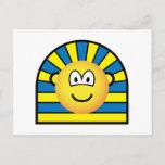 Mummy emoticon   postcards