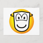 Masked emoticon Theatre  postcards