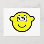 Starry eyed buddy icon   postcards