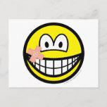 Plaster smile   postcards